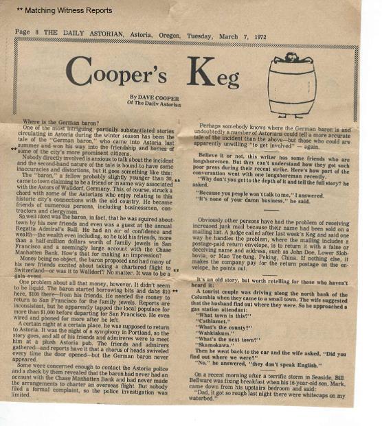 Astoria - DB Cooper Case - Norman de Winter