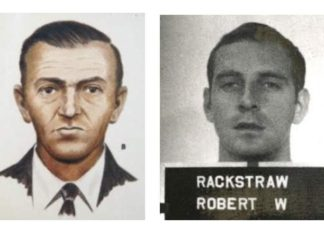 DB Cooper - Military headshot - Robert W. Rackstraw