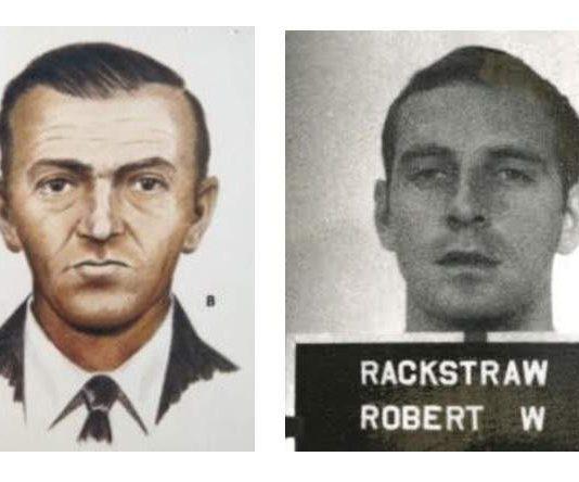 DB Cooper - Military headshot - Robert W. Rackstraw