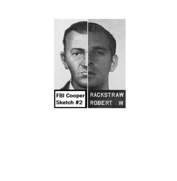 Robert Rackstraw Mility photo and DB Cooper Sketch Side by side1