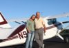 DB Cooper Investigation - Russ and Kristy Cooper at airstrip
