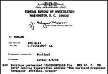 DB Cooper Letter #6 Lab Report